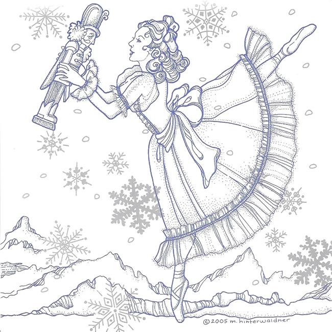 monika hinterwaldner illustrator   designer greeting nutcracker ballet clipart nutcracker ballet clipart free